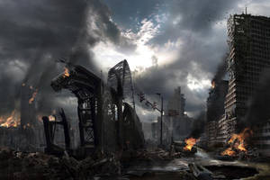 Celestial Decay - Quantum X - Album Cover by Jacklionheart