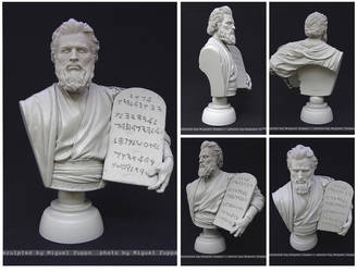 Moses _ Charlton Heston by miguelzuppo