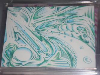 art card emerald city by DoozersWorkshop