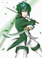 Gallade: 'Leaf Blade' by Rubisu