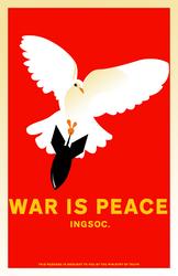 War Is Peace by kitten-boy