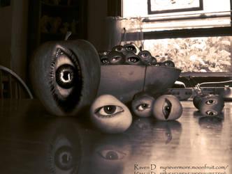 Peeping Fruit - orginal by RavenDemitri