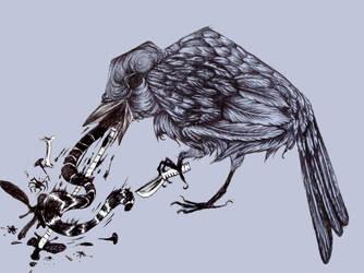 Bird Vomit by Dayglowfrog