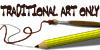 icon 'Traditional Art Only' by genzm
