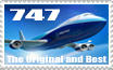 747 stamp by Aviation-nation