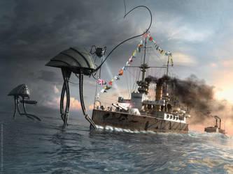 War of the Worlds Thunderchild by TroC--czarnyrobert