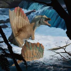 Spinosaurus in the wather - GGehr - 15-09-2018 by RyanGuicks