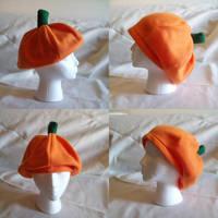 Pumpkin Hat by Darkauthor81