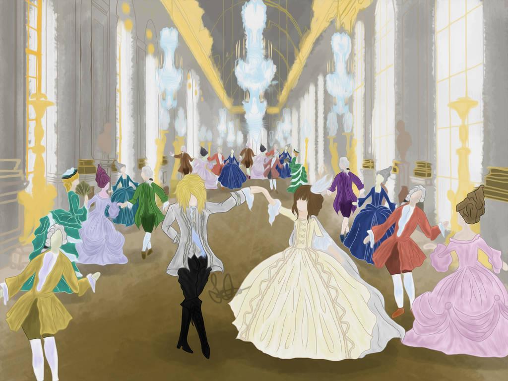 Versailles Dance by deisempaii