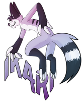 Ikari badge by IkariTheMonsterFox