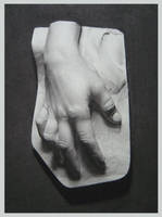 Charcoal Hand by guaya