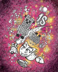 dA 18th Bday - Doodle by gloomy-cherub