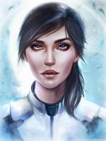Sara Ryder Mass Effect Andromeda by EvaKosmos