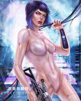 MAJOR - Ghost in the Shell by EvaKosmos
