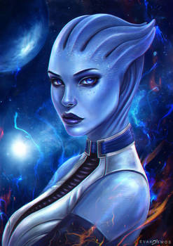 Liara T'Soni Mass Effect by EvaKosmos