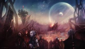 Faria - invasion by EvaKosmos