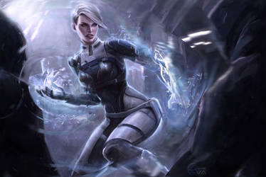 Cora Harper Mass Effect Andromeda Initiation by EvaKosmos