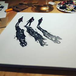 chasing shadows  by RobinH89