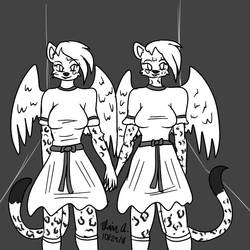 Inktober 2018 Day 29- Double by wrytergirl