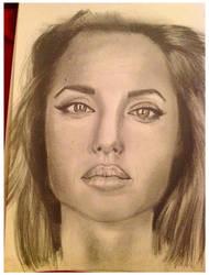 Angelina Jolie by Telllu