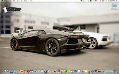 Lamborghini Aventador by radusirbu