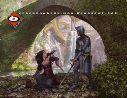 Legend of Saint George versus the Dragon by RU-MOR