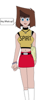 Tea Gardner_spirit shirt_ by NEX-EXE