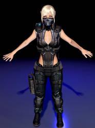 Generic Female Future Soldier by DaftwalkerArtTs