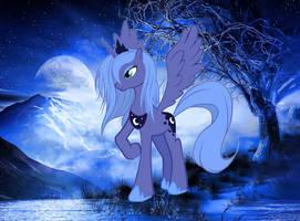 Luna in Winter by BlackfeetSinopaa