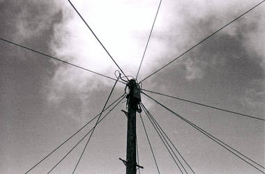 telegraph pole1 by deckchairs