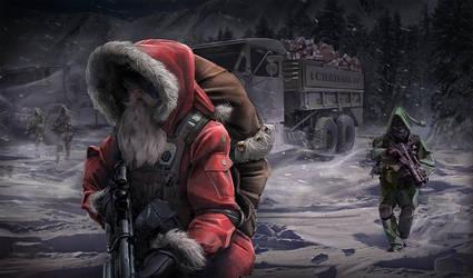 Santa3 by blackbendit