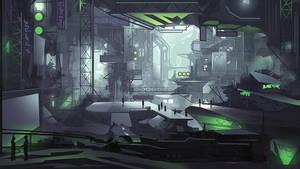 Industrial City by nigelhimself