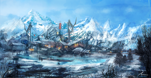 Cold Front Outpost by nigelhimself