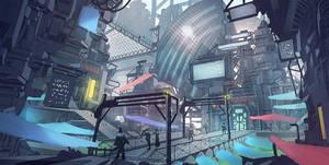entertainment district by nigelhimself
