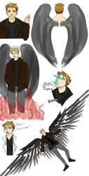 Trickster Dean by TideOfFire