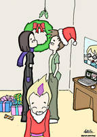 Code Lyoko - Kaddick Christmas by Lonewind