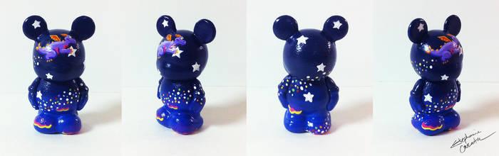 Vinylmation Jr. 1 1/2'' Twinkle Figment Custom by StephanieCassataArt