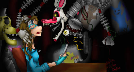 Five nights at Freddy's 2 by silverowl1468