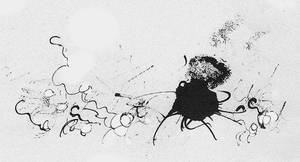 Rapacious kraken in the deep sea by MrSchnada