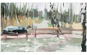 December in summerhouse by agevla77