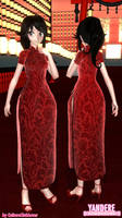 TDA Ayano -China Dress- [DL Link] by CultureClubLover
