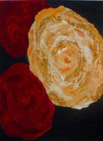 Kimono Flowers by artistevelyne
