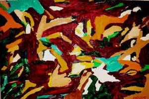 African land by artistevelyne