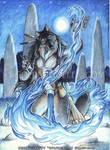 Blue Fire by Goldenwolf