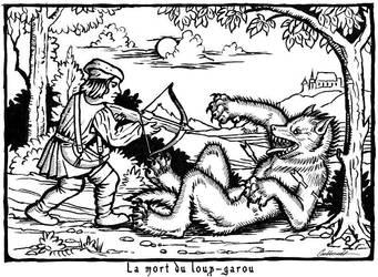 La mort du Loup-Garou by Goldenwolf