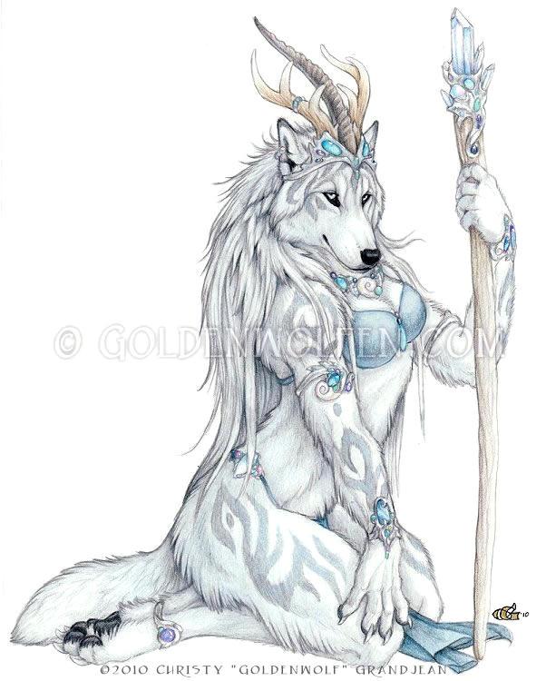 Zirconia Wolf by Goldenwolf