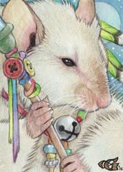 Little Shaman by Goldenwolf