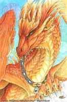 Cinnabar Dragon by Goldenwolf