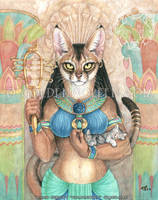 Bastet by Goldenwolf
