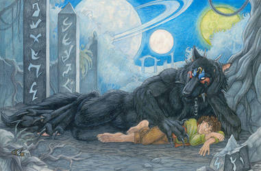 Bloodhound Omega Commission by Goldenwolf